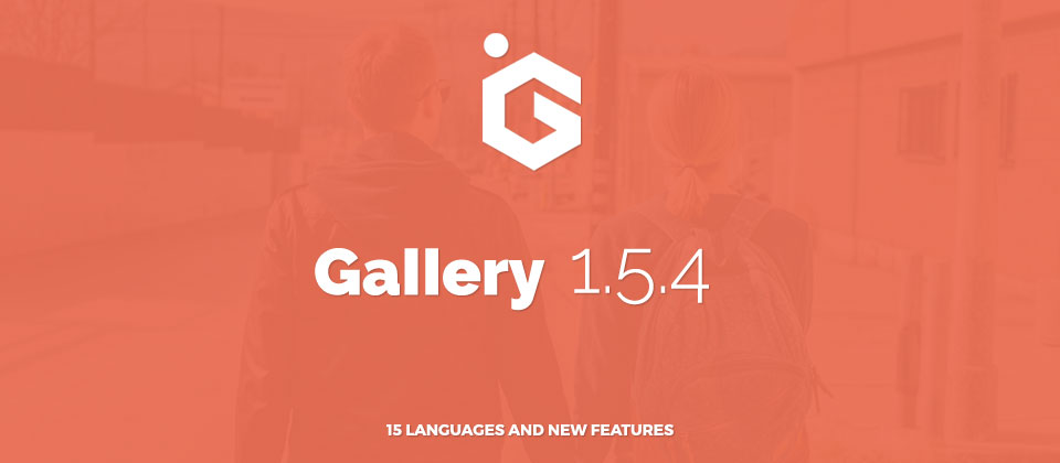 Joomla Gallery 1.5.4 Languages and New Features