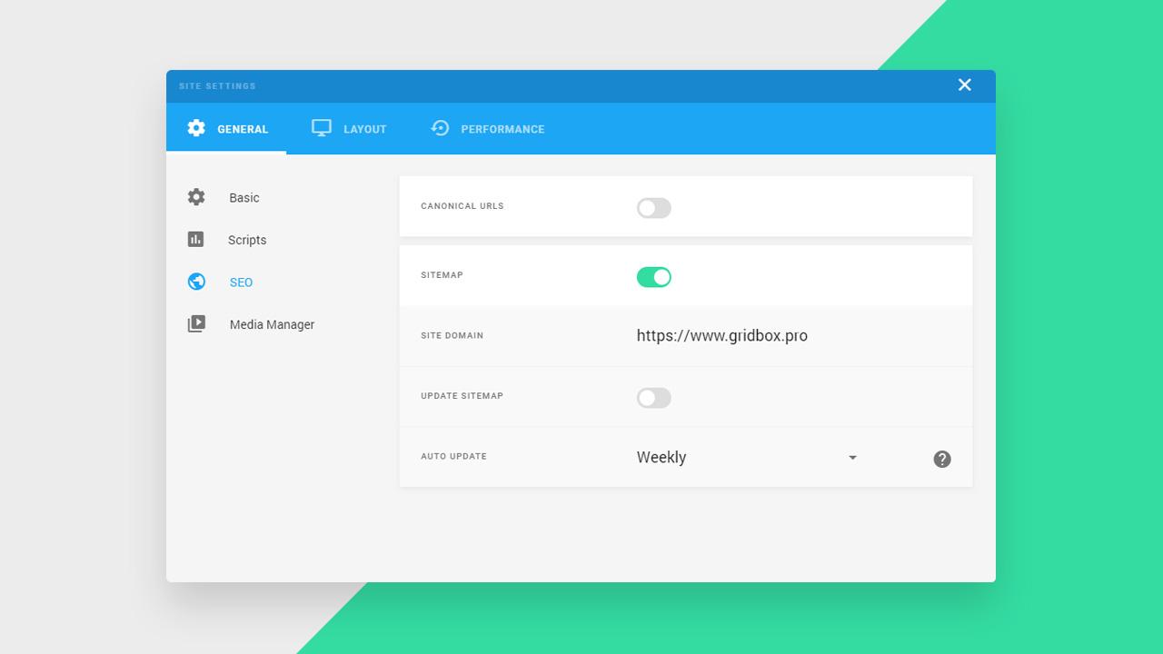 XML Sitemap Generator For Joomla Website Builder Gridbox