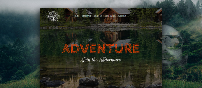 Adventure Gridbox Theme and Joomla Quickstart