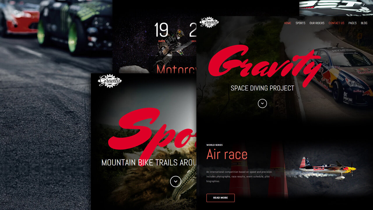 Gravity Gridbox Theme and Joomla Quickstart