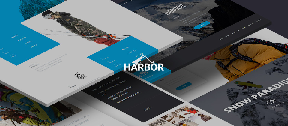 Harbor Gridbox Theme and Joomla Quickstart