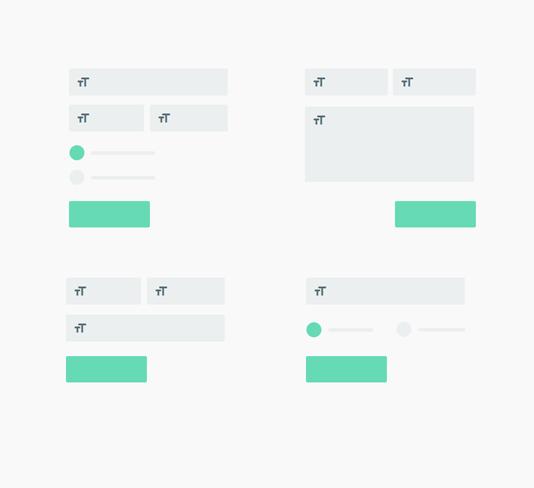 Modèles de formulaires préinstallés - Balbooa Joomla Forms Builder