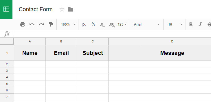 Integrate Google Sheets With Balbooa Joomla Forms Joomla Forms - Google spreadsheet