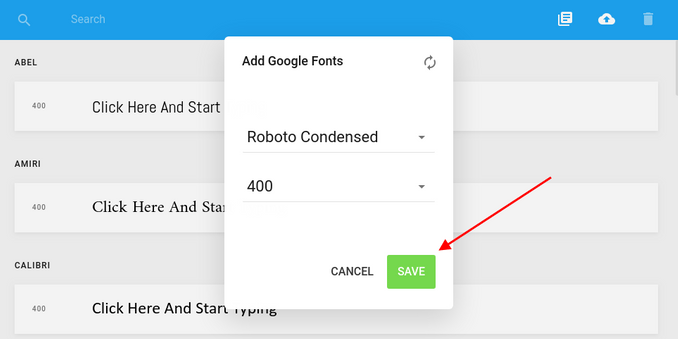 How to add Google Fonts to Joomla with Gridbox?