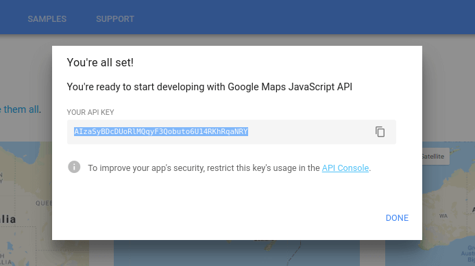 How To Get A Google Maps Api Key