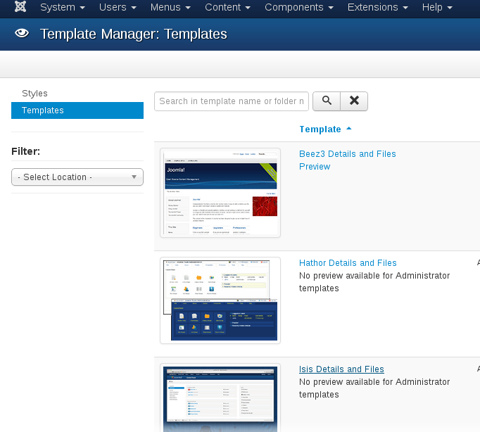 How to add new module position in Joomla? Choose the template
