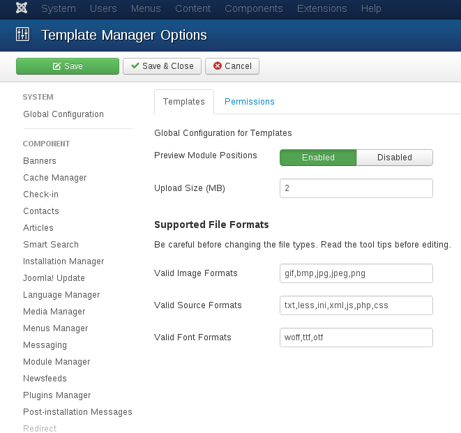 How to add new module position in Joomla? Preview Module Position