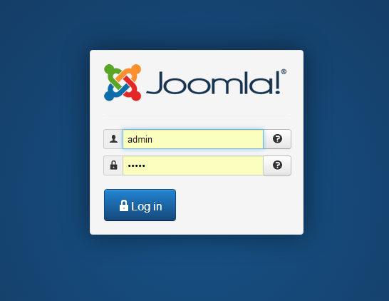 How to setup mail in Joomla? Log in.