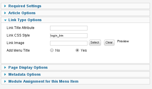 How to use Joomla menu class suffix name